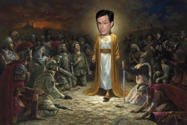 Stephen Colbert on his Christian Faith, God, and Hell
