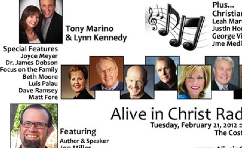 Discussion of Faith, Politics, and Discipleship on Alive In Christ Radio