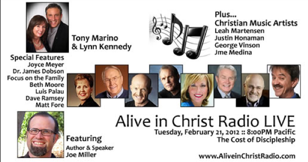 Discussion of Generational Leadership on Alive In Christ Radio