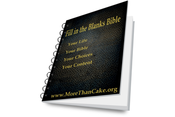 "All NEW ""Fill In the Blanks Bible"" © – Genesis Translation"