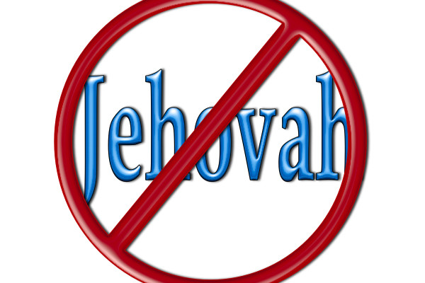 Jehovah is not in the Bible!