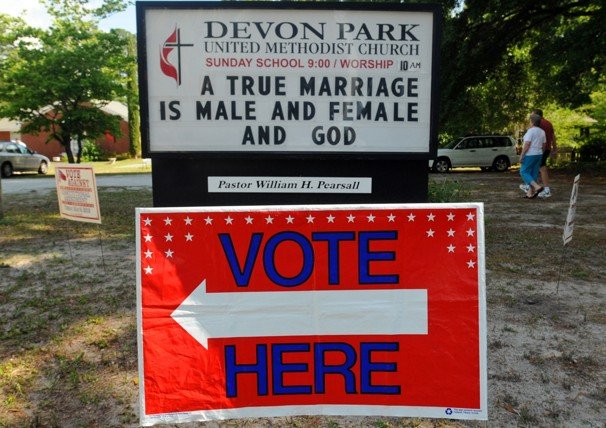 Gay Marriage, Politics & The Church: A Voice Crying From the Middle