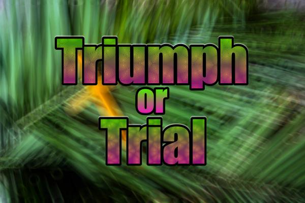Triumph or Trial?