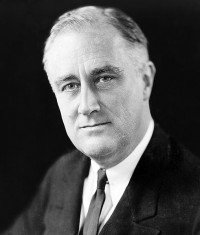 FDR was President of the United States of America from March 4, 1933 – April 12, 1945