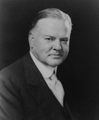 Herbert Clark Hoover was the 31st President of the United States (March 4, 1929 – March 4, 1933)