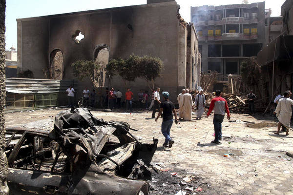 A Christian Genocide In Egypt More Than Cake