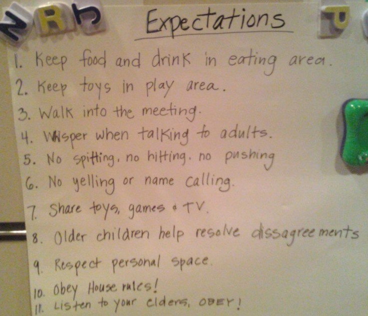 rules for small group