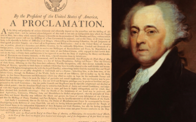 John Adams Proclamation for a Day of Fasting & Humiliation