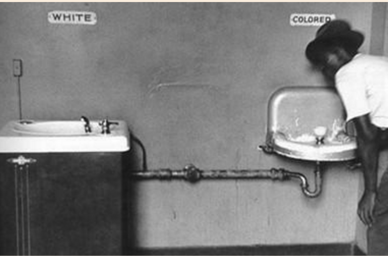 jim crow separate fountains
