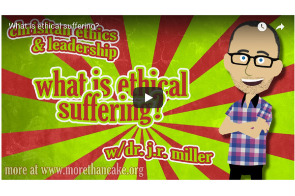 What is ethical suffering?