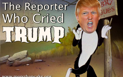 The Reporter Who Cried Trump