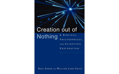 [BOOK REVIEW] Creation out of Nothing: A Biblical, Philosophical, and Scientific Exploration